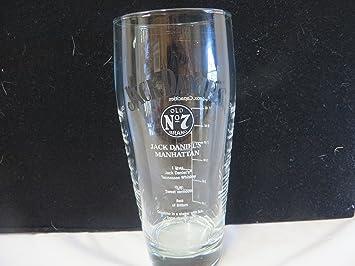 amazon com jack daniels manhattan glass everything else