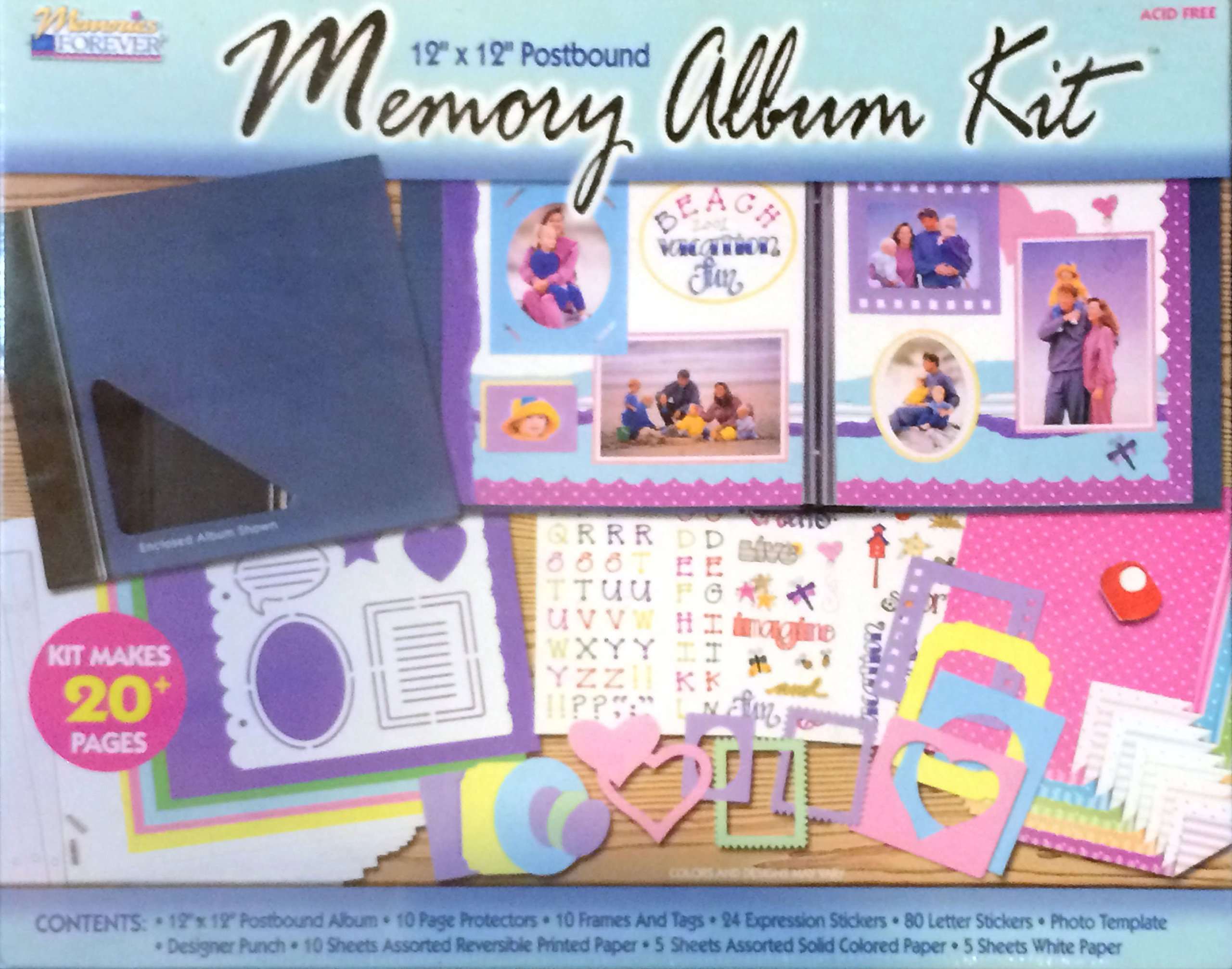 The Complete Scrapbook Kit Memory Album