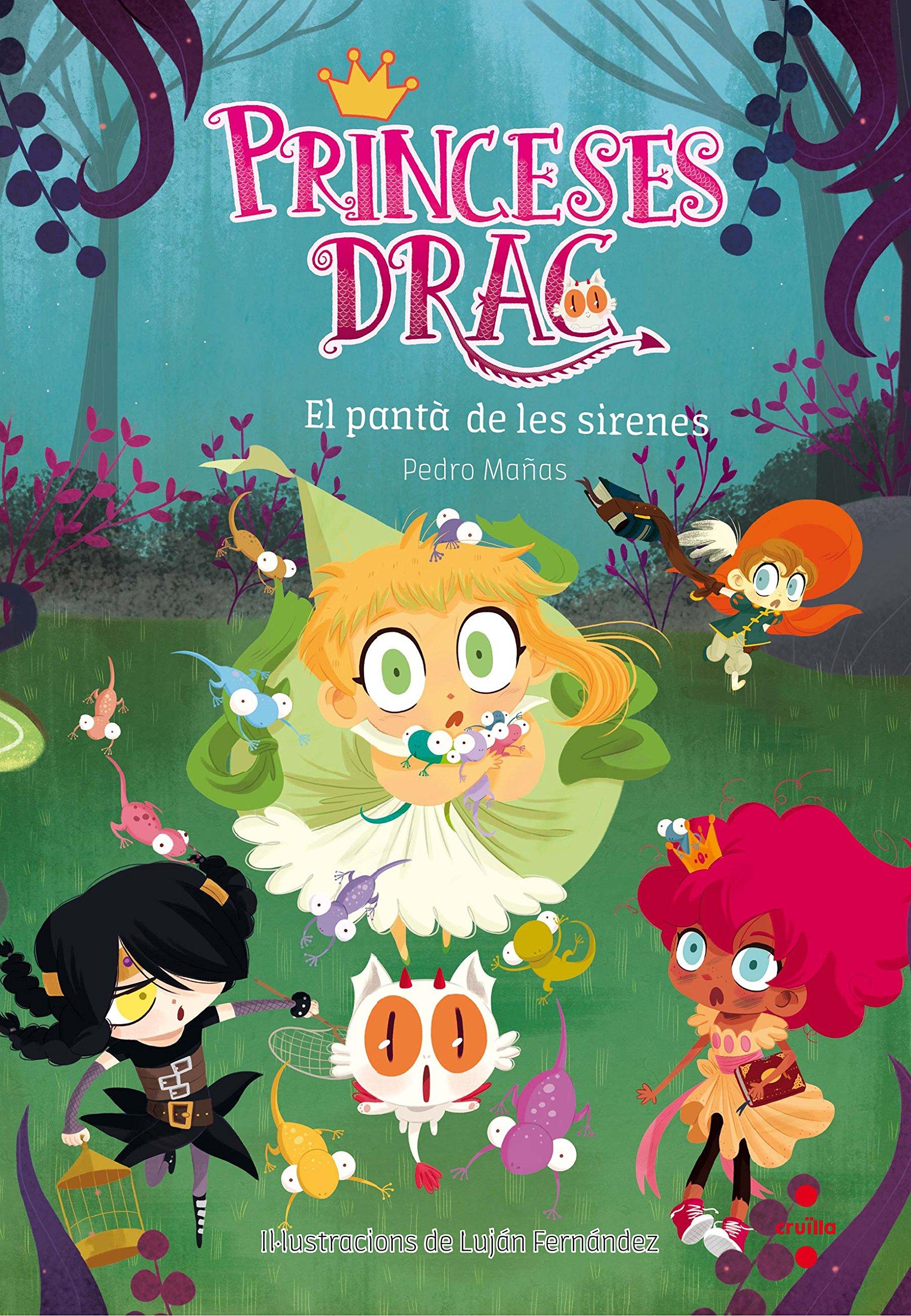 Princeses Drac 2: El pantà de les sirenes (Princesas Dragón)