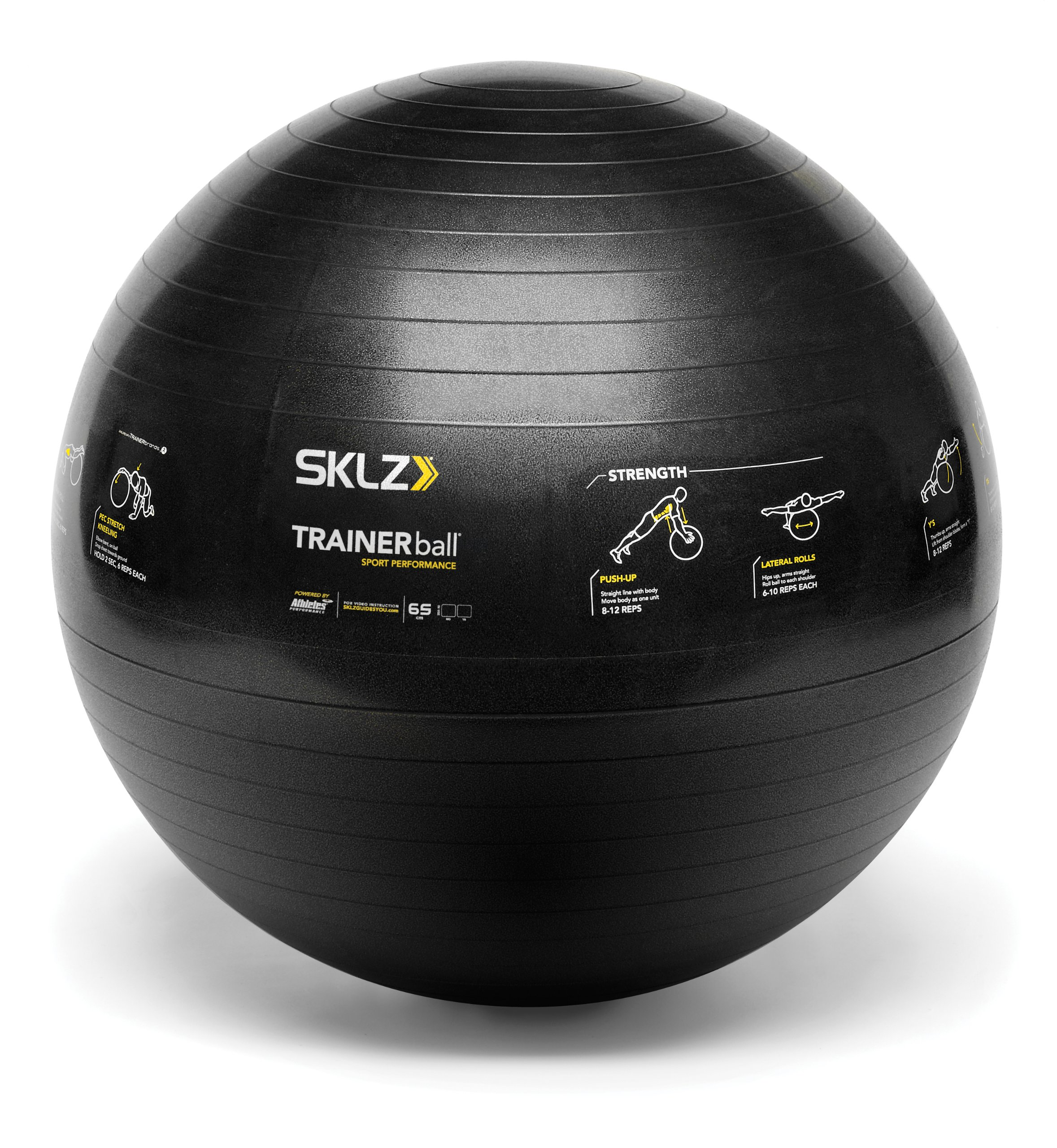 SKLZ Sport Performance Trainer Ball - Self-Guided Stability Ball