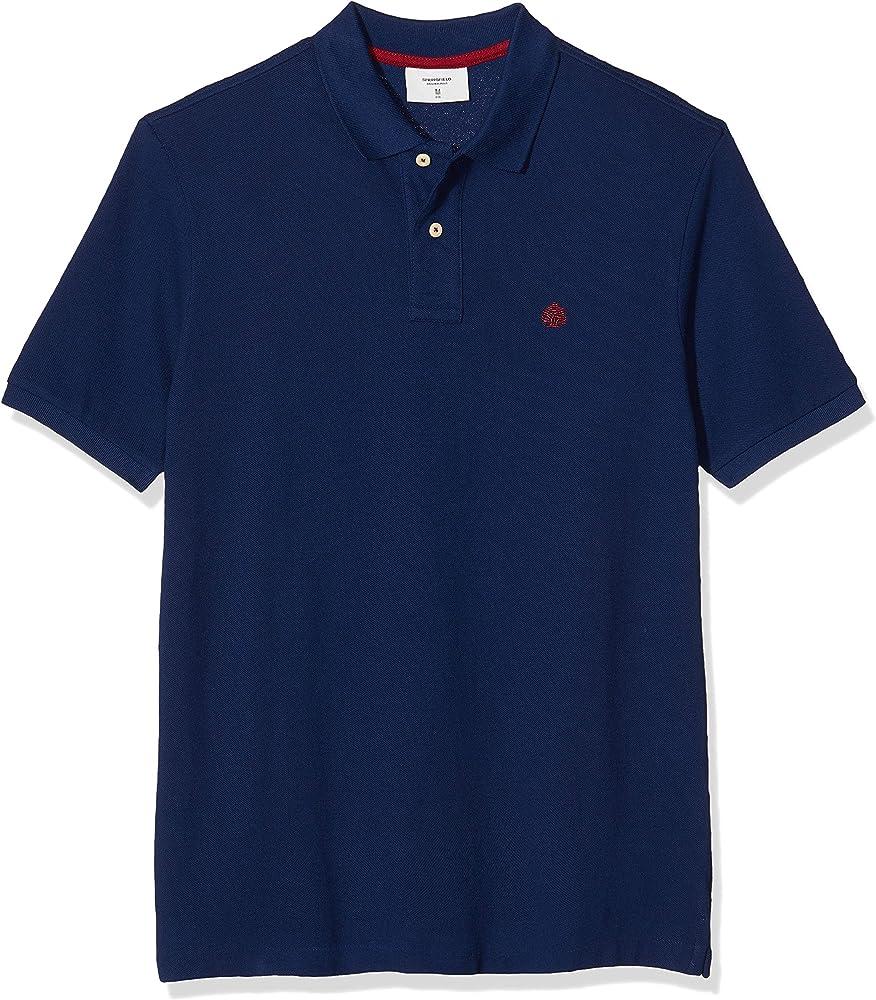Springfield 2Ba Polo Básico Regular T6, Azul (Blue 14), Small (Tamaño del Fabricante: S) para Hombre: Amazon.es: Ropa y accesorios