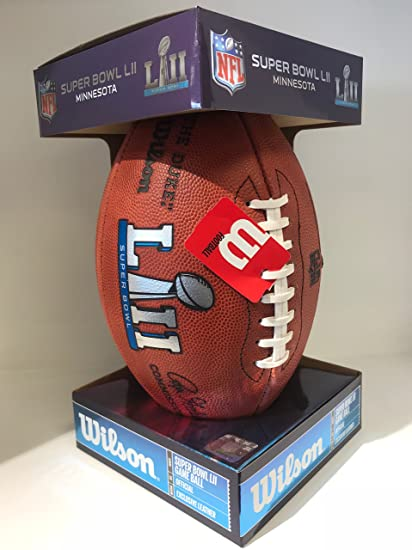 Super Bowl 52 Football - Game Model as used in the Super Bowl in ... c675b7584