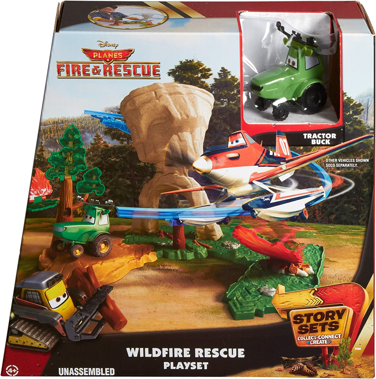 Mattel Cdw72 Planes Missione Antincendio Story Sets Wildfire Re