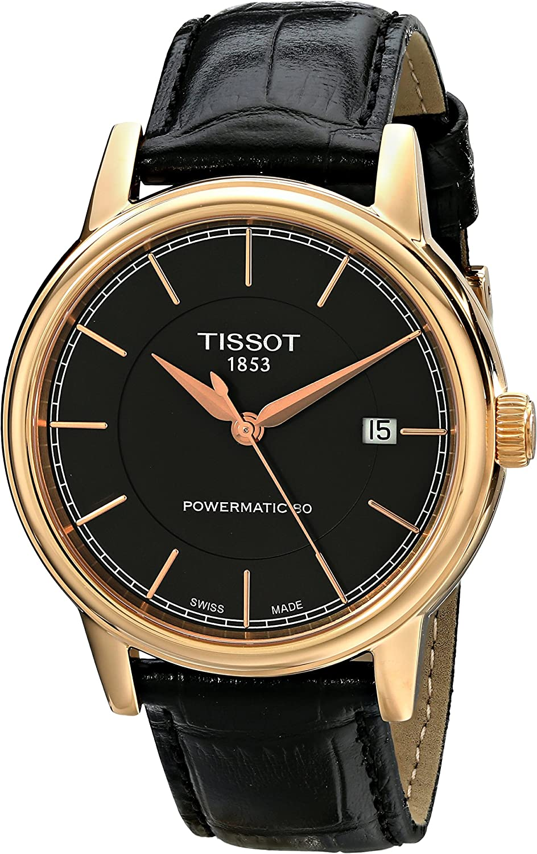 Tissot Men s T0854073606100 Carson Analog Display Swiss Automatic Brown Watch
