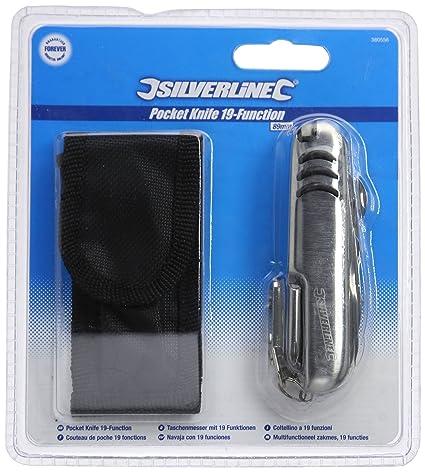 Amazon.com: Silverline 1 en 19 función bolsillo Utilidad ...