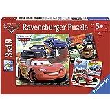 Ravensburger - 09281 - Puzzle Enfant Classique - Cars 2 - 3 x 49 Pièces