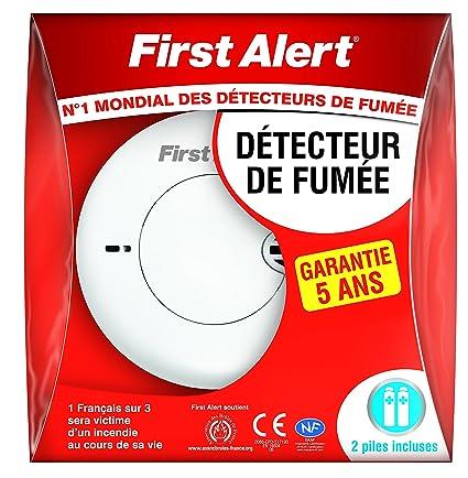First Alert - SA700BF Detector de humo compacta