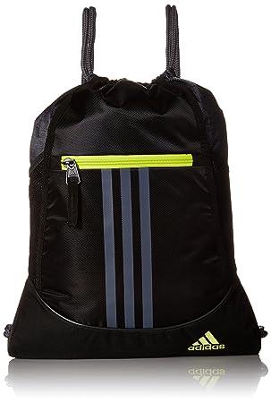 adidas Alliance II sackpack, Black/Black Jersey/Onix/Semi ...