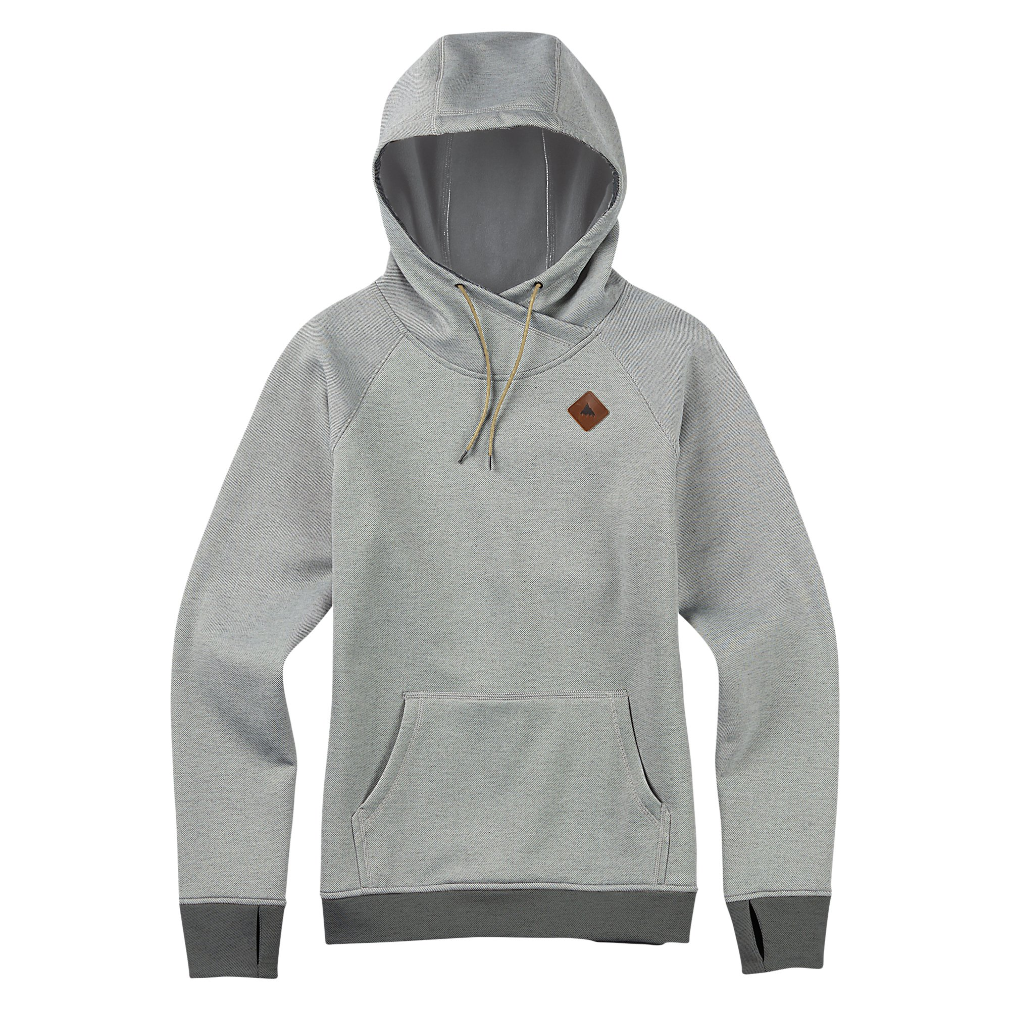 Burton Heron Pullover Hoodie, High Rise Twill, X-Large