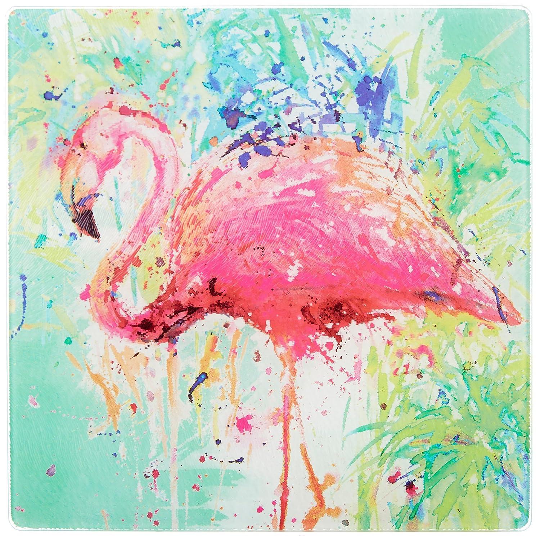 amazon com tropix splash flamingo trivet one size kitchen u0026 dining