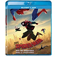 Spider-Man: Into The Spider-Verse (3D) Bilingual - Blu-ray/DVD + Digital Combo Pack