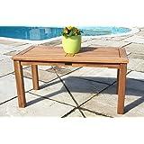 Teak Garden Coffee Table Rectangular