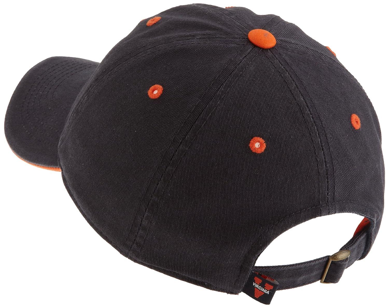 brand new 8e1f4 770c3 Amazon.com   Virginia Cavaliers Adult Adjustable Hat, Navy   Baseball Caps    Clothing