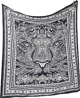 Tapiz Raajsee de algodón indio con diseño de mandala color ...