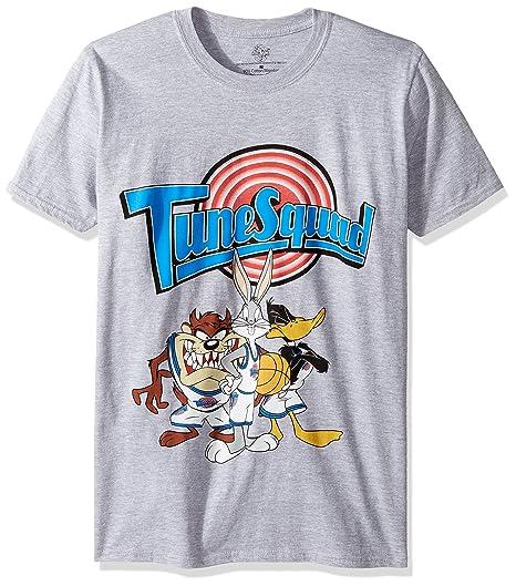 12f53cffbe6c93 Looney Tunes Men s Space Jam Tune Squad T-Shirt