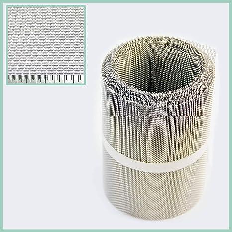 150 mm X 10 METRE - de acero inoxidable de malla filtro UV ...