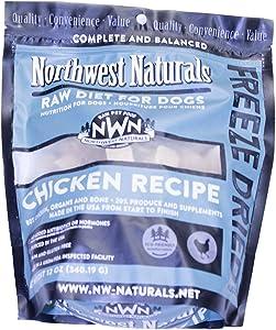 Northwest Naturals Raw Diet Freeze Dried Nuggets - Dinner for Dogs (Chicken)
