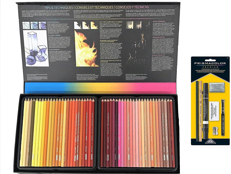 150-Count With Prismacolor Colored Pencil Accessory Set 7-Piece Prismacolor Premier Colored Pencils Soft Core