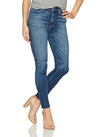 1a31145e42e5 Hudson Jeans Women s Barbara High Waist Ankle Raw Hem Super Skinny 5 ...