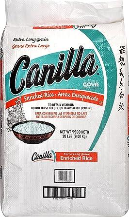 Goya canilla Arroz de grano largo, 1-count (Pack of1 ...