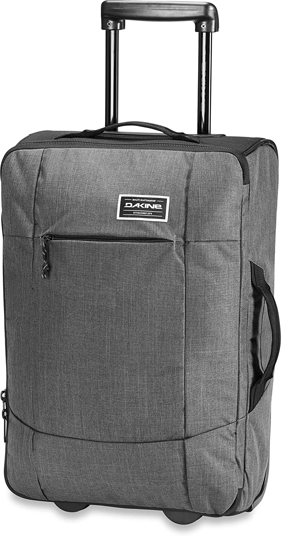 Dakine Carry On Eq Roller Bolsa de viaje trolley para portátil, Unisex adulto, Carbon, 40 L