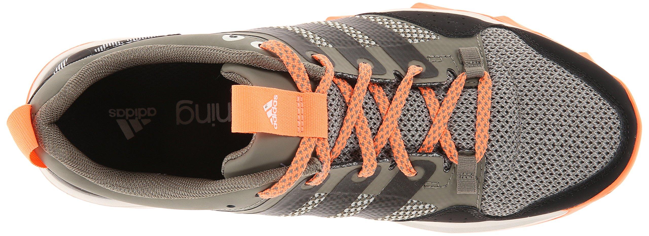 adidas Performance Women's Kanadia 7 TR W Trail Running Shoe, Clay/Chalk/Flash Orange, 7 M US by adidas (Image #8)