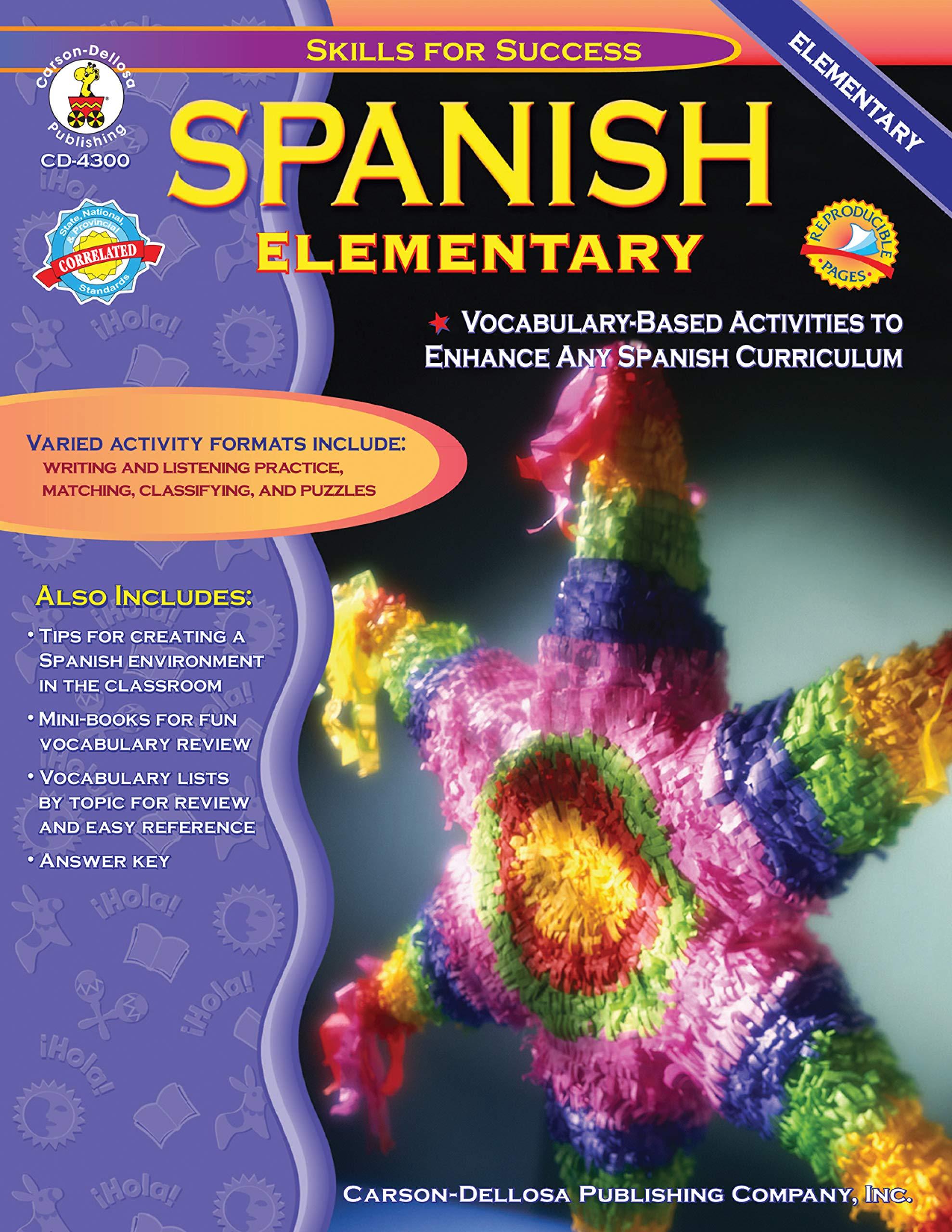 Grades K 5 Spanish I