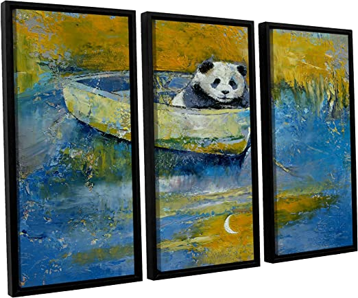 24 x 32 ArtWall 4 Piece George Zucconis Central Park Floater Framed Canvas Set
