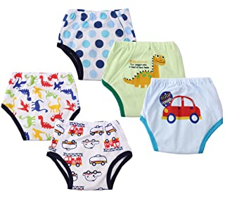 Image: Dimore(r) Baby Toddler 5 Pack Assortment Cotton Training Pants