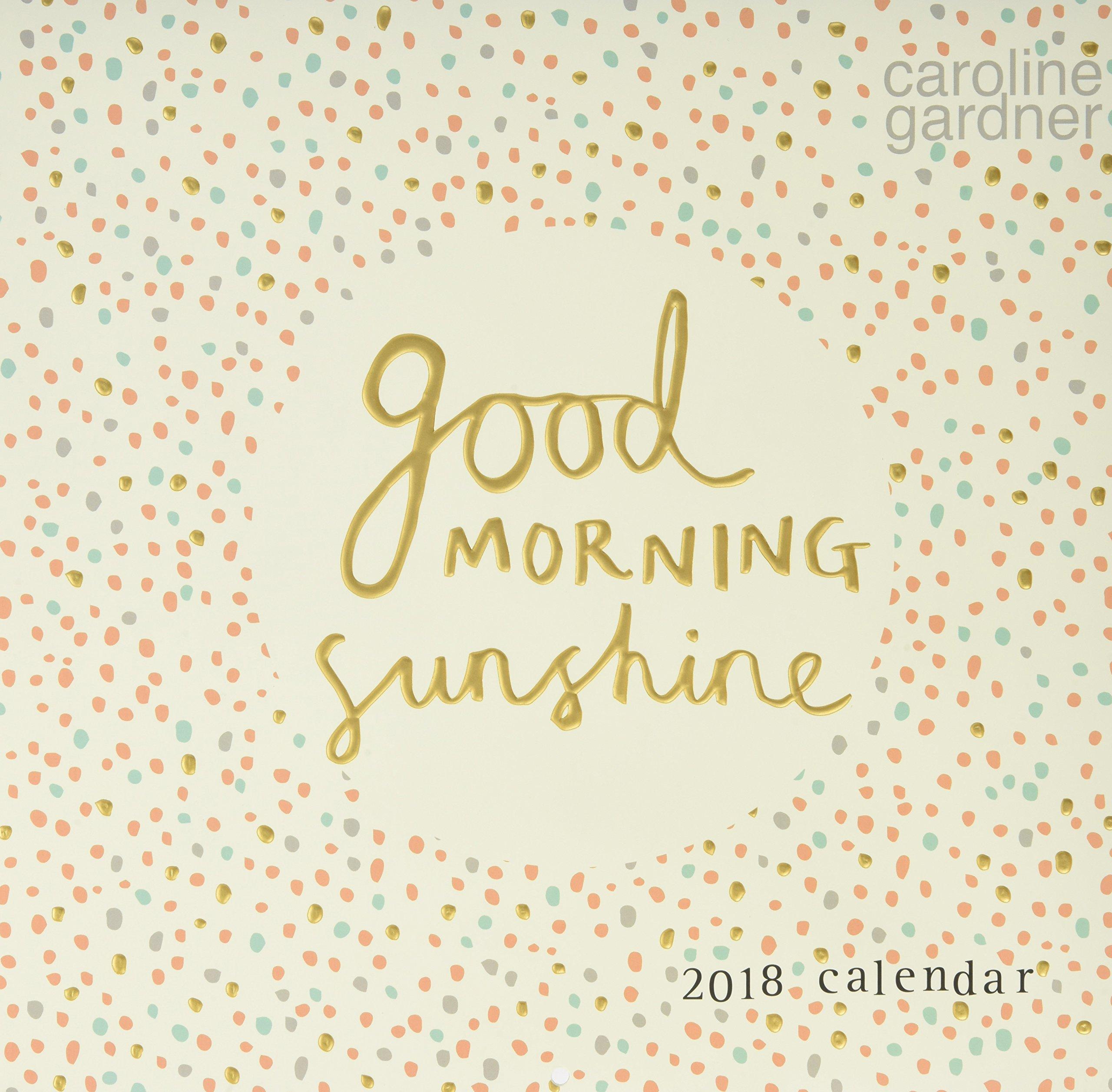 Hey You Design Portico Designs Ltd Caroline Gardner Square Calendar 2019