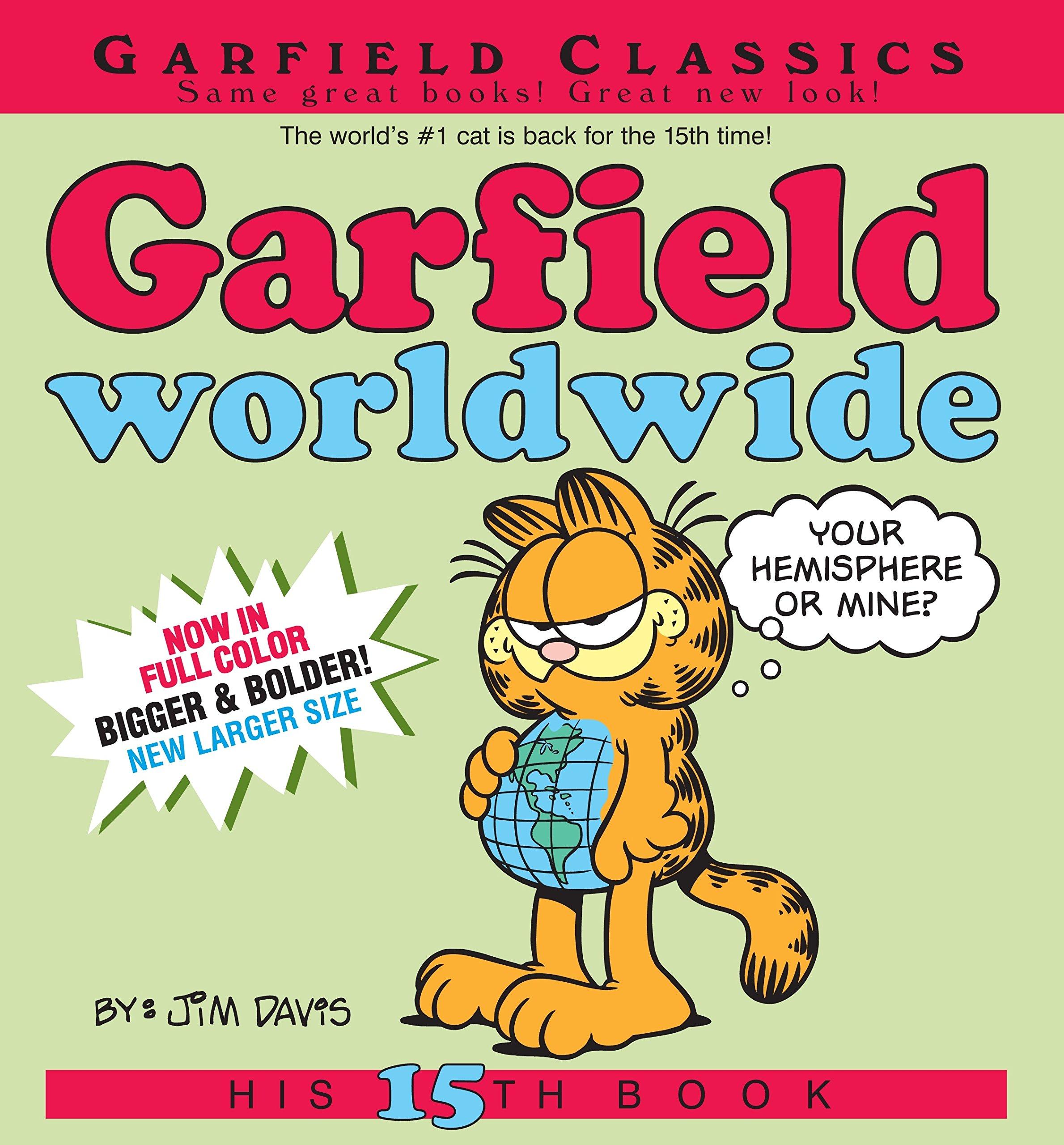 Amazon Com Garfield Worldwide His 15th Book 9780345917546 Davis Jim Books