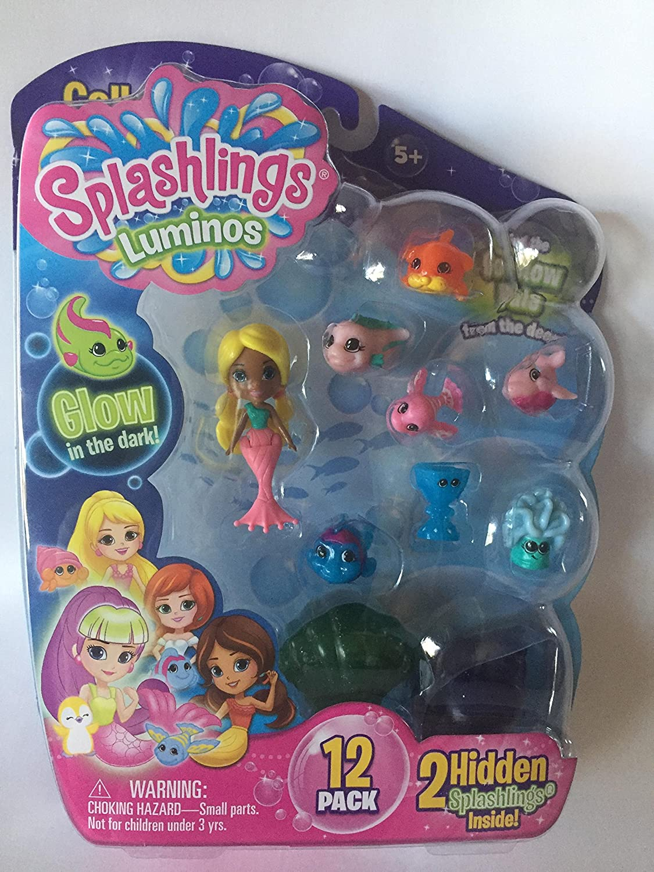 Style 3 Glow in the dark Splashlings 12 Pack