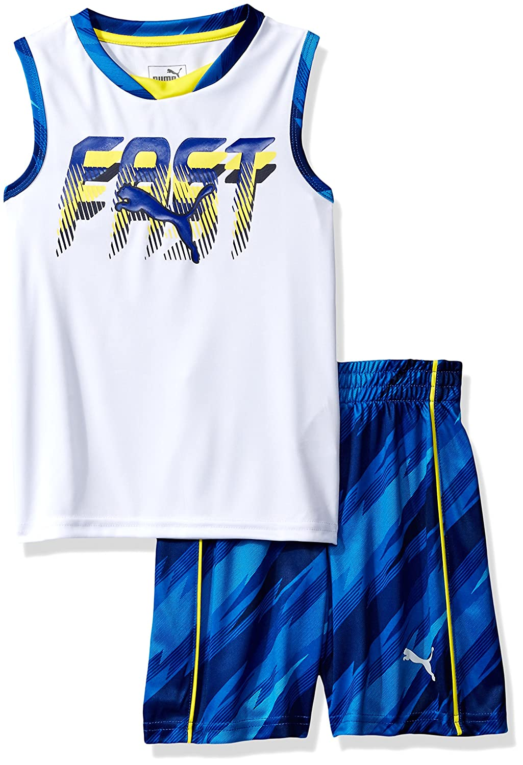 PUMA Boys 2 Piece Short and Muscle Set 41175180