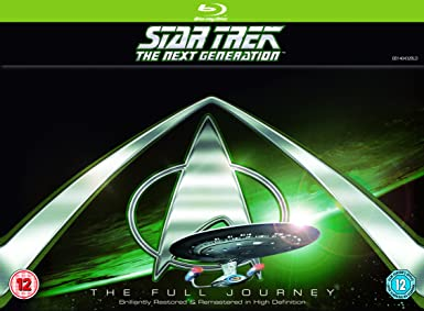 Star Trek: The Next Generation - Season 1-7 Blu-ray Region Free