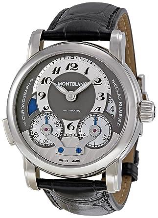 886667c4d22 Image Unavailable. Image not available for. Color  Montblanc Men s 102337 Nicolas  Rieussec Chronograph Watch