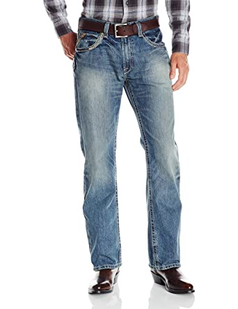 115442394c76a4 Ariat Men's M5 Slim Fit Straight Leg Jean: Clothing ariat men's jeans  reviews