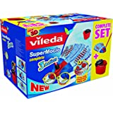 Vileda Supermocio 3 Action Mop and Bucket Set