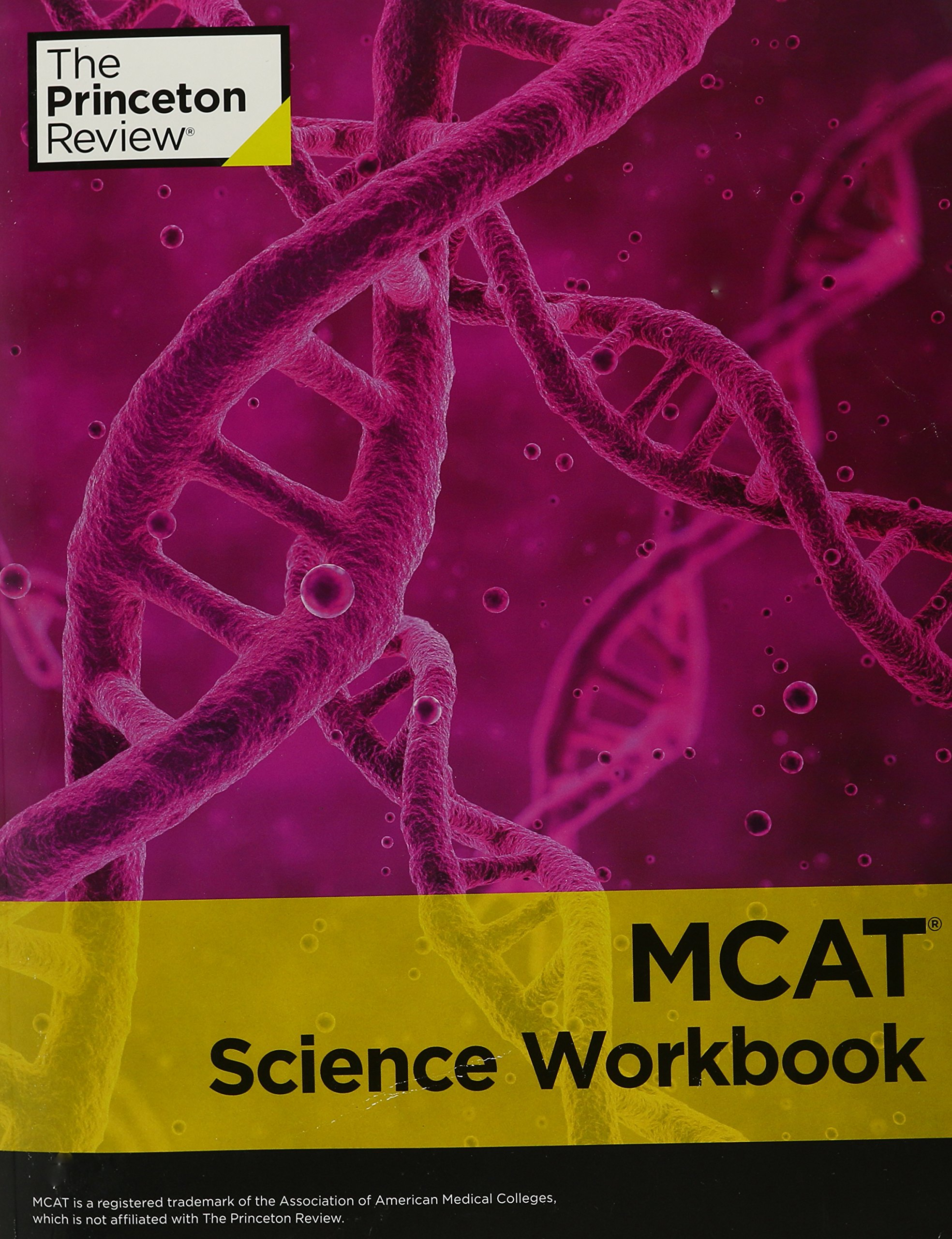 MCAT Science Workbook: The Princeton Review: 4913993110792