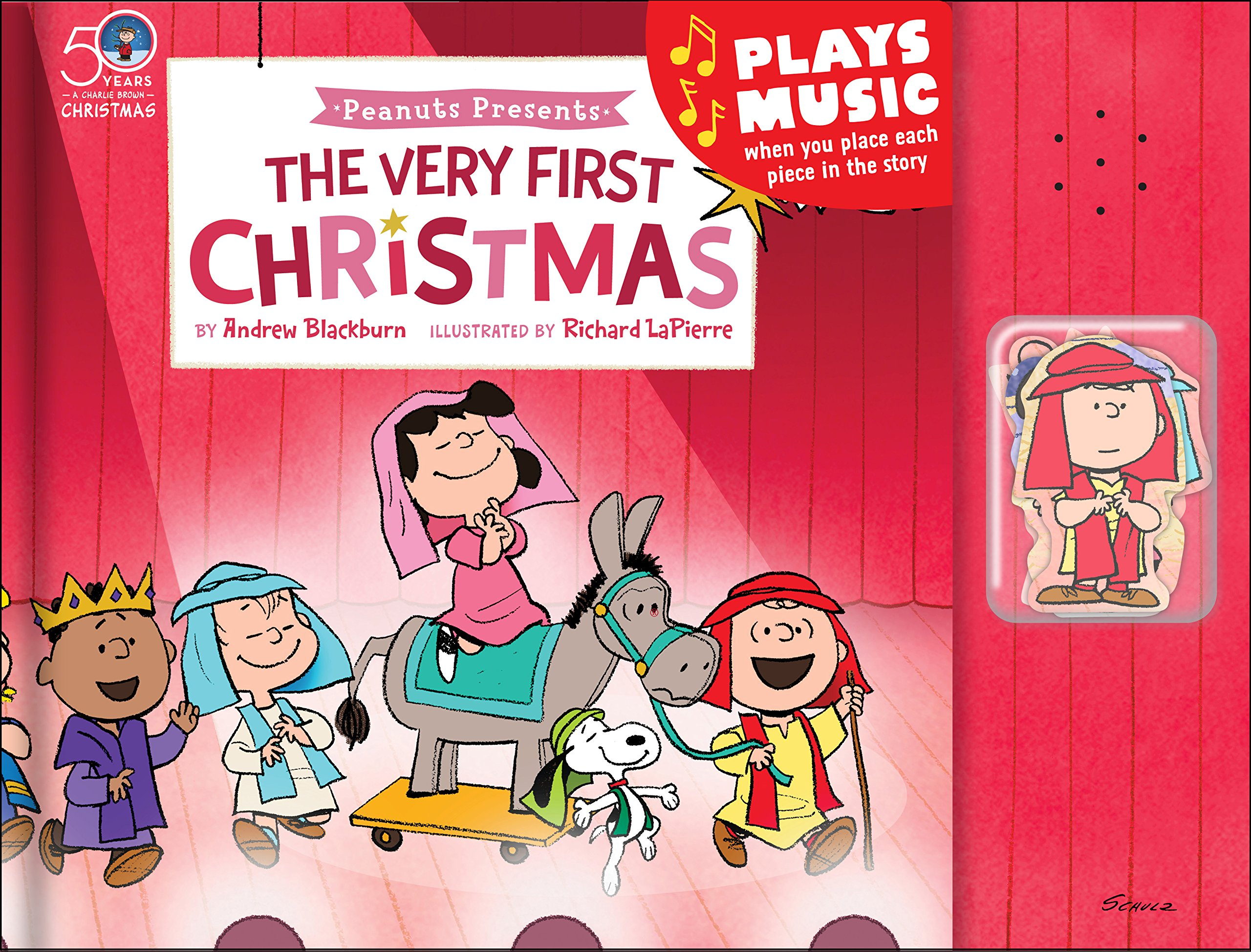 Peanuts® Presents: The Very First Christmas Musical Puzzle Story Book