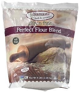 Namaste Foods - Gluten Free Perfect Flour Blend (5 Lbs) Resealable Bag,, ()