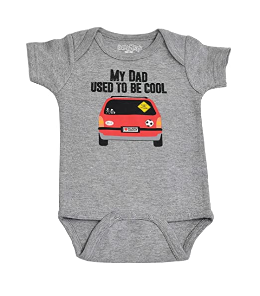 c619a6816e45 Amazon.com  Sara Kety Funny Cool Van Dad Baby Romper