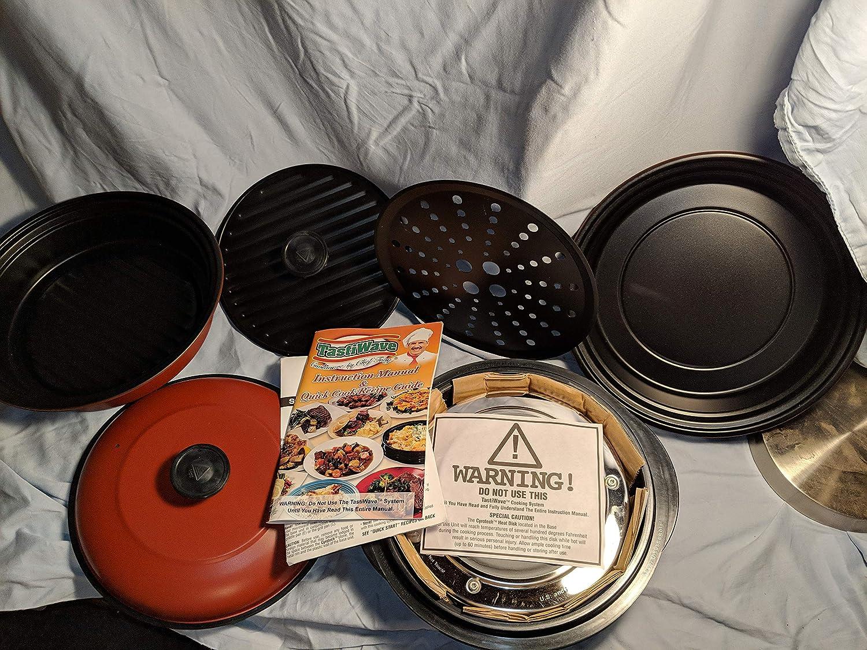 Nueva tastiwave Tasty Wave 6 piezas Microondas Utensilios de cocina Set + de chef por Tony: Amazon.es: Hogar