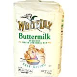 White Lily Self-Rising Buttermilk White Cornmeal Mix Enriched