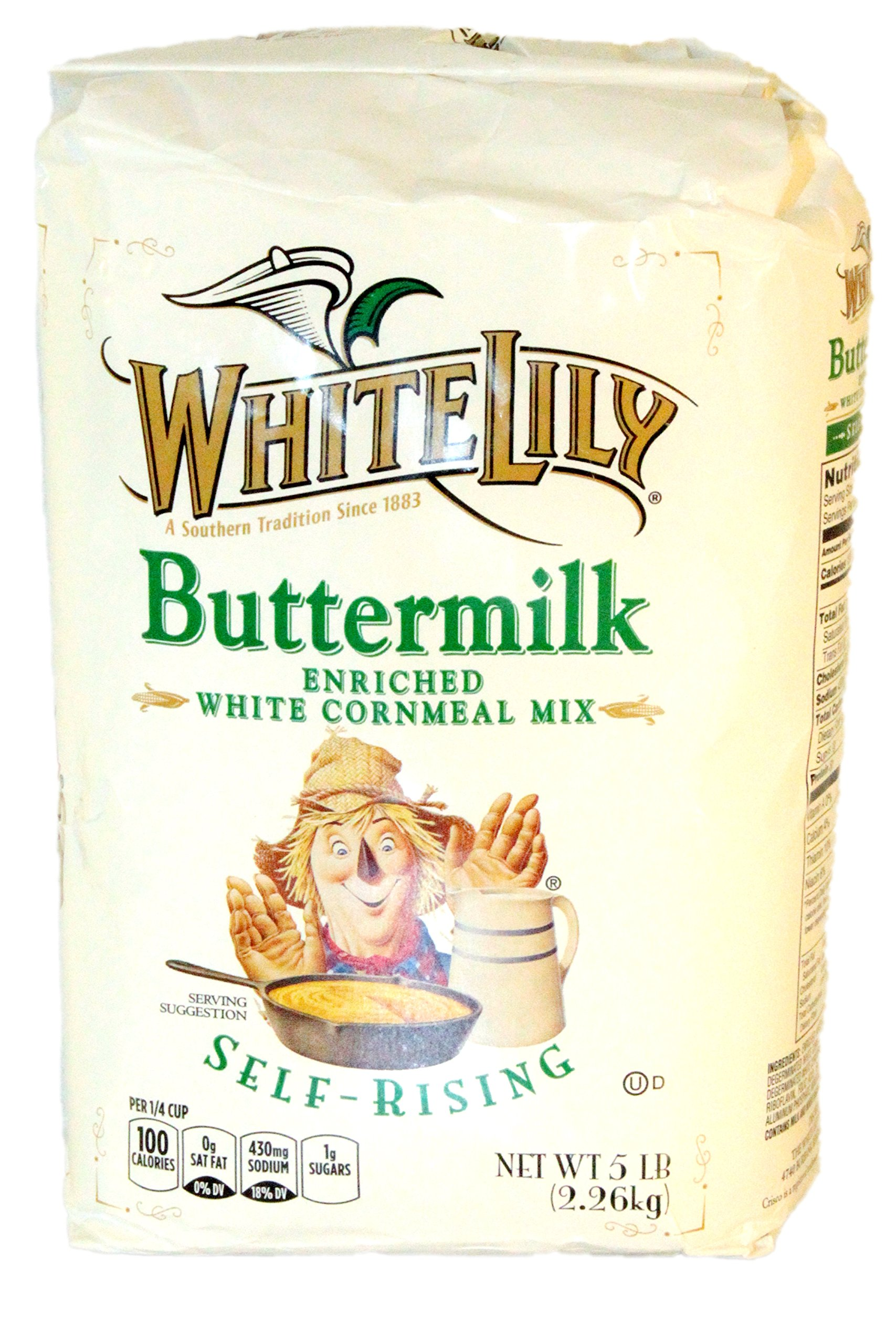 Amazon.com : White Lily Unbleached Self Rising Flour, 5-lb