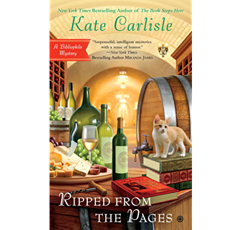 Ripped From The Pages Bibliophile Mystery Book 9 Kindle Edition By Carlisle Kate Mystery Thriller Suspense Kindle Ebooks Amazon Com