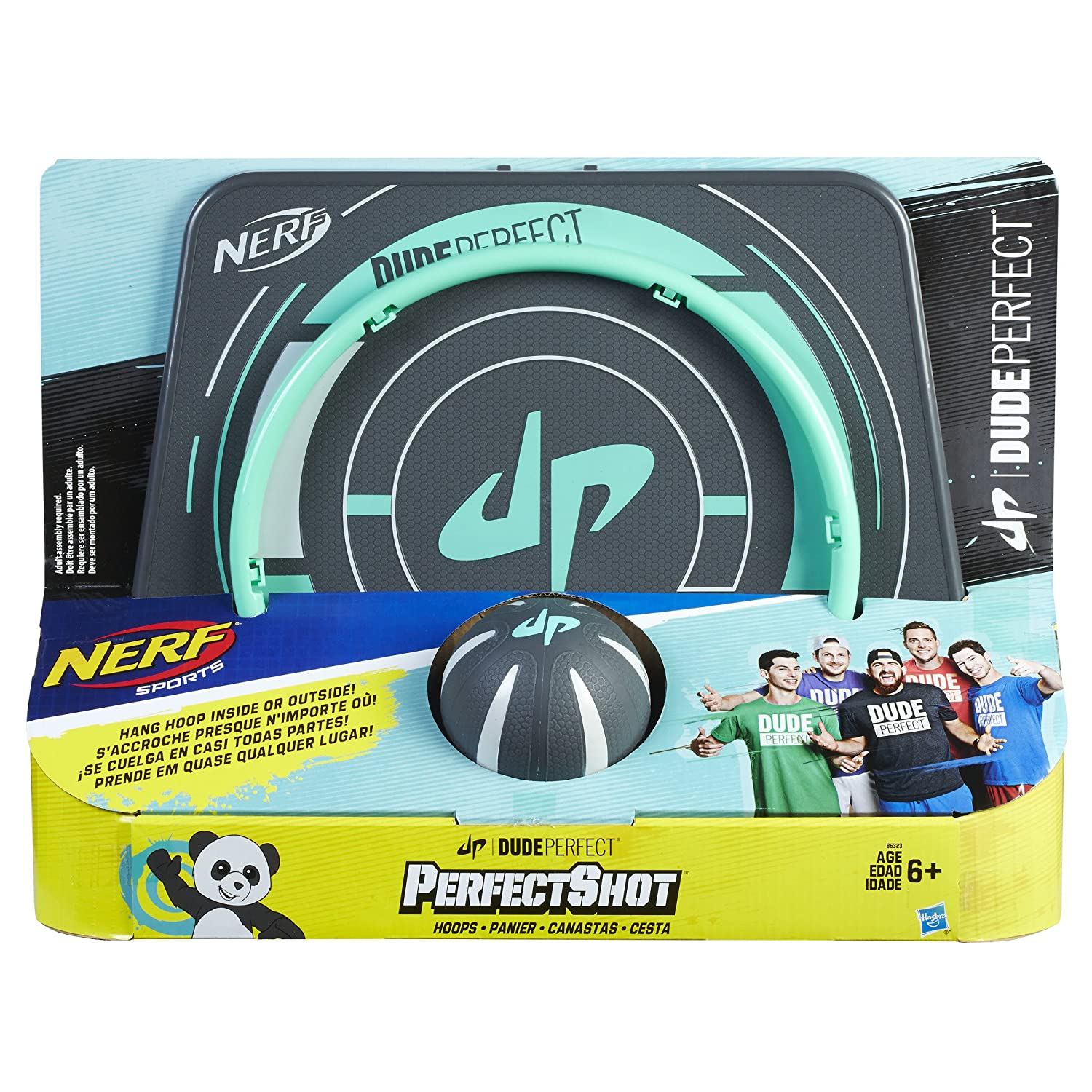 Amazon.com: Nerf Sports Dude Perfect PerfectShot Hoops: Toys & Games