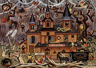 product image for Buffalo Games - Charles Wysocki - Trick or Treat Hotel - 500 Piece Jigsaw Puzzle