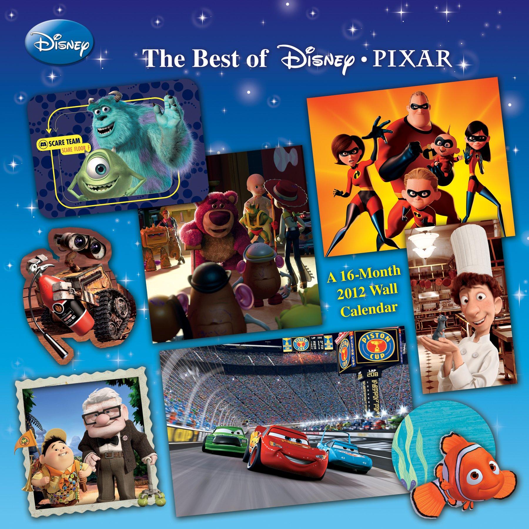 Download Disney Pixar 2012 Wall Calendar pdf epub