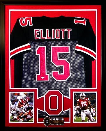 outlet store c2ba1 33ca3 Ezekiel Elliott Ohio State Buckeyes Autograph Signed Custom ...