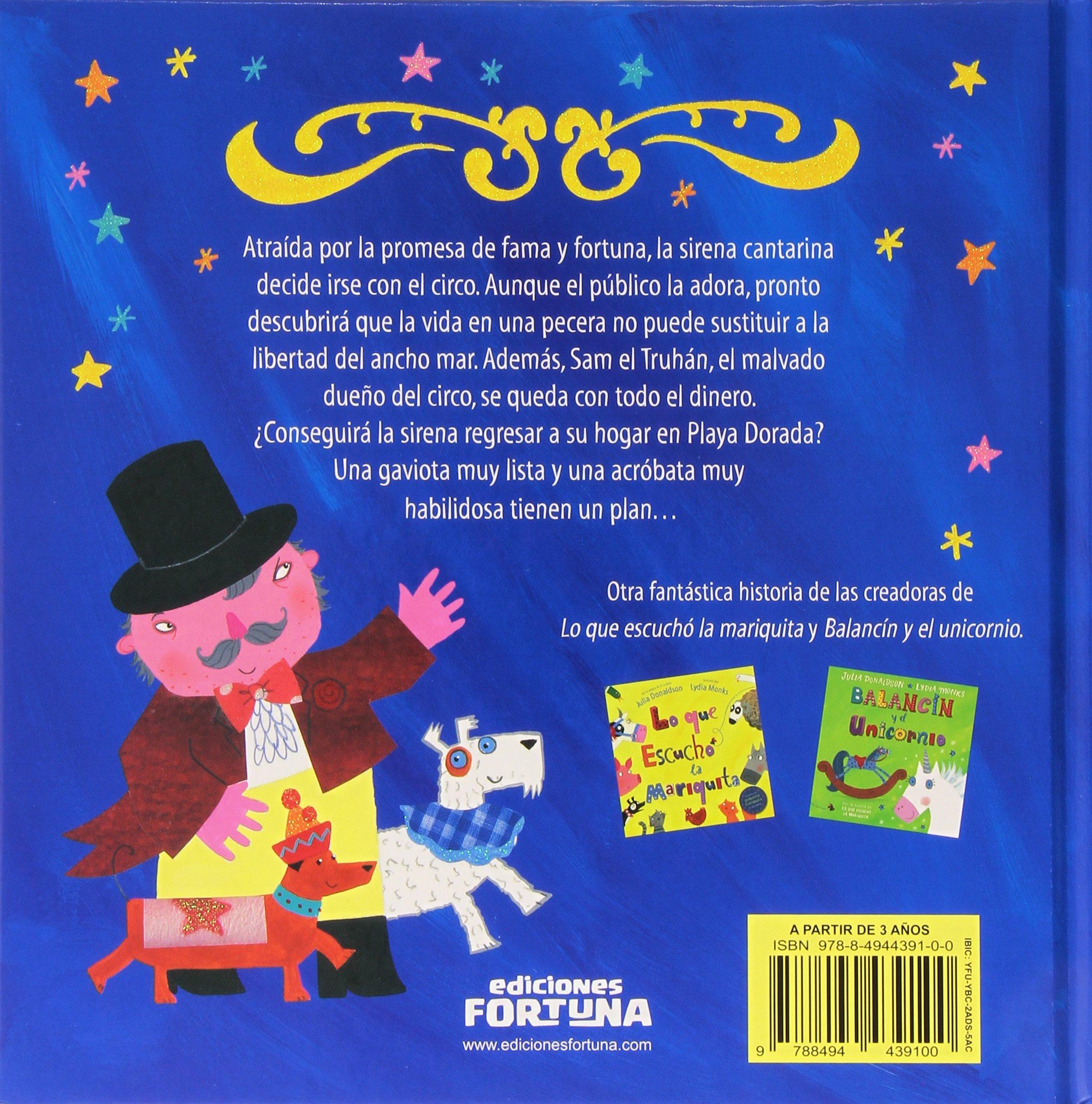La sirena cantarina: Julia Donaldson: 9788494439100: Amazon.com: Books